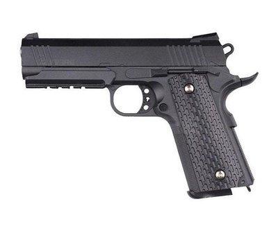 Пистолет страйкбольный Galaxy G.25 (Colt 1911 PD Rail)