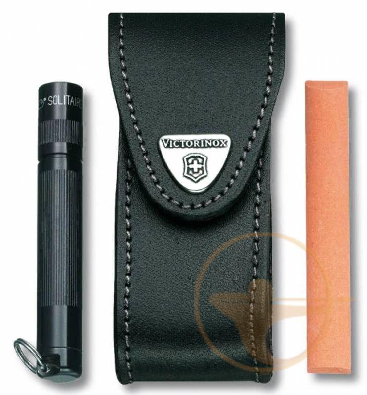 Чехол из нат.кожи Victorinox Leather Belt Pouch (4.0520.32) 819916