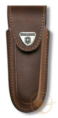 Чехол из нат.кожи Victorinox Leather Belt Pouch (4.0537)