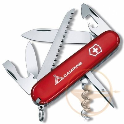 Нож перочинный Victorinox Camper Camping (1.3613.71)