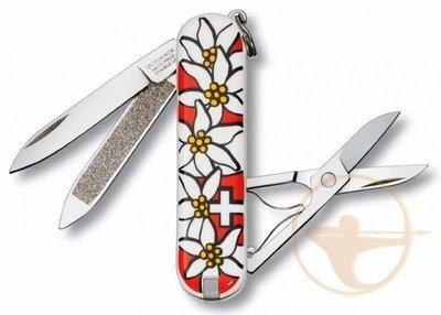 Нож перочинный Victorinox Classsic Edelweiss (0.6203.840)