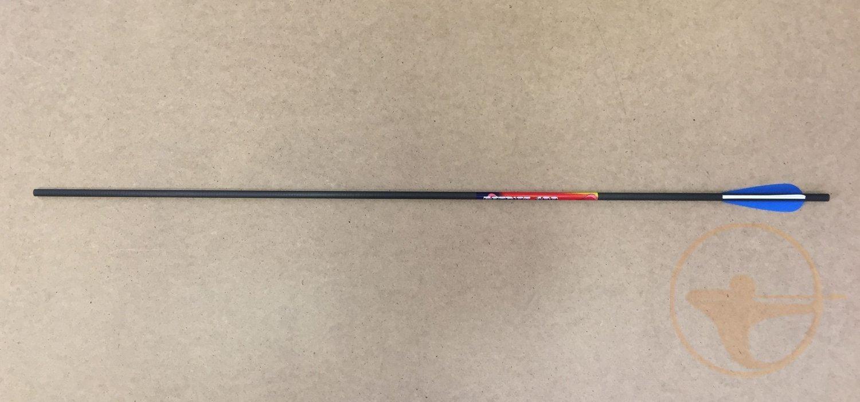 Стрелы лучные карбон Bowmaster Patriot 400 с оперением  3