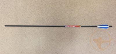 Стрелы лучные карбон Bowmaster Patriot 340 с оперением Streamline (6 шт.)