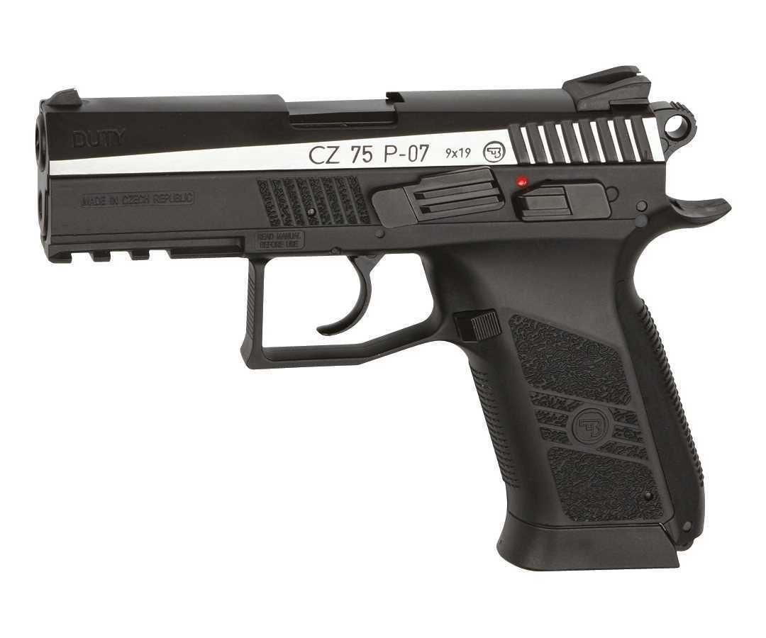 Пистолет ASG CZ-75 P-07 Duty DT (двухцветный)