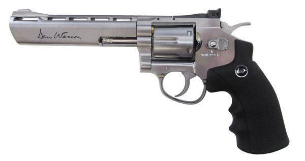 Револьвер ASG Dan Wesson 6 Silver (пулевой) 01725