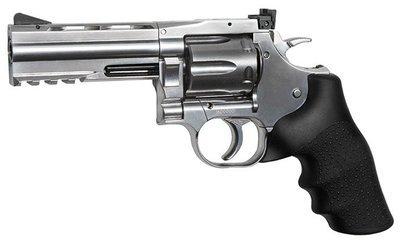 Револьвер ASG Dan Wesson 715-4 Silver (пулевой)