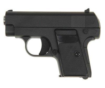Пистолет страйкбольный Galaxy G.9 (COLT25 mini)