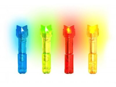Светящийся затыльник для лучных стрел