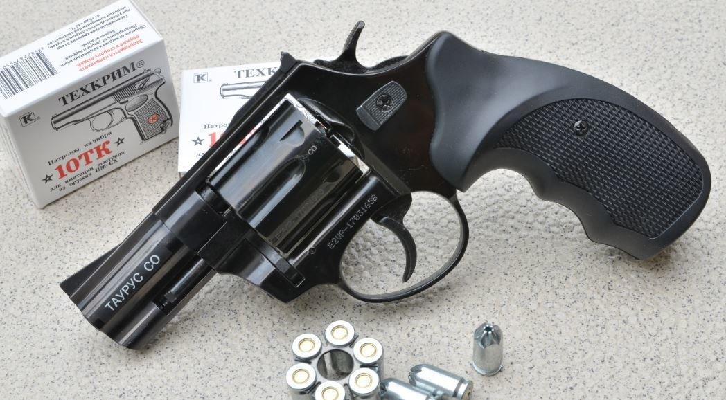 Охолощенный револьвер Таурус-CO, 10ТК таурус-со