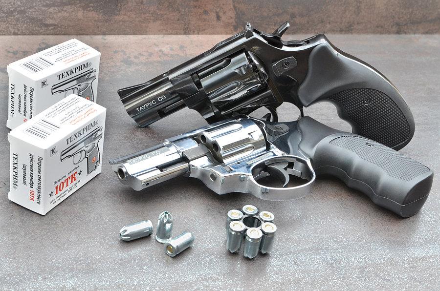 Охолощенный револьвер Таурус-CO, 10ТК