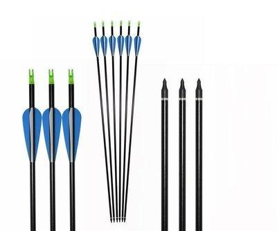 Стрела для классического лука текстолит 80XX-32 (6 шт.)