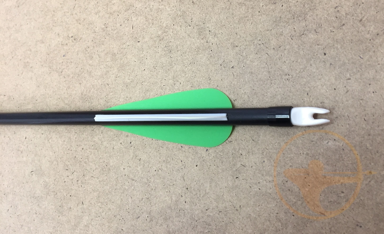 Стрела для лука текстолит 80XX-31 (6 шт.)