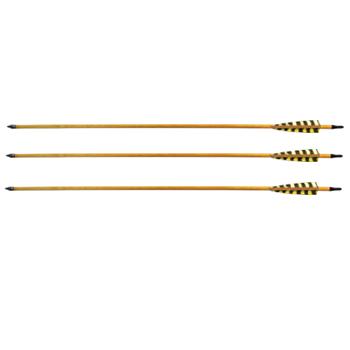 Стрела для лука карбон с натуральным пером WTP-7-500-30 (6 шт.)