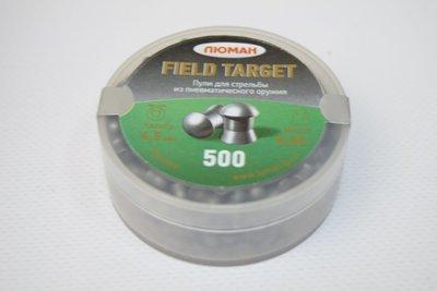 Пули пневматические Люман Field Target (500 шт, 4,5 мм, 0,68 г)