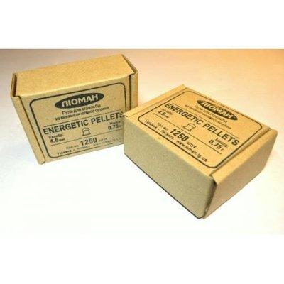Пули пневматические Люман Energetic pellets (1250 шт, 4,5 мм, 0,75 г)