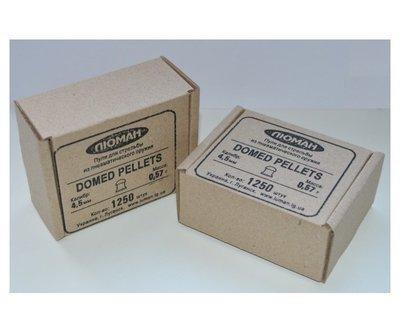Пули пневматические Люман Domed pellets (1250 шт, 4,5 мм, 0,57 г)
