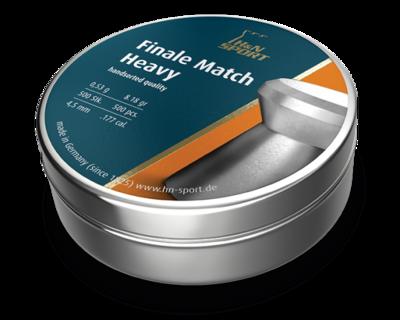 Пули пневматические H&N Finale Match Heavy (500 шт, 4,5 мм,  0,53 г)