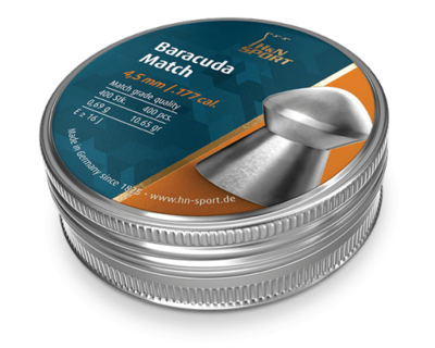 Пули пневматические H&N Baracuda Match (500 шт, 4,5 мм, 0,69 г)