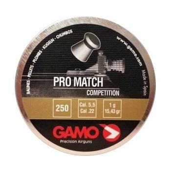 Пули пневматические Gamo Pro-Match (250 шт, 5,5 мм, 1 г)