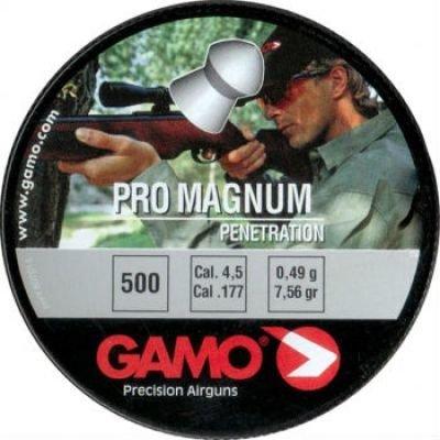 Пули пневматические Gamo Pro-Magnum (500 шт, 4,5 мм, 0,49 г) 02061