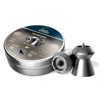 Пули пневматические H&N Terminator (400 шт, 4,5 мм, 0.47 г)