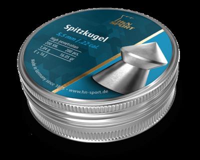 Пули пневматические H&N SpitzKugel (200 шт, 5,5 мм, 1,02 г)