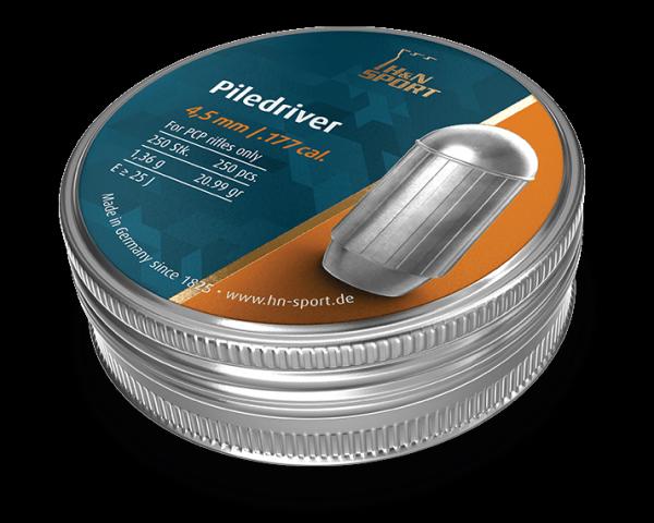 Пули H&N Piledriver (250 шт, 4,5 мм,1,36 г) 02050