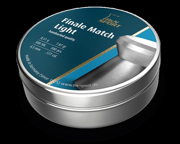 Пули пневматические H&N Match Light (500 шт, 4,5 мм, 0,51 г) 02120