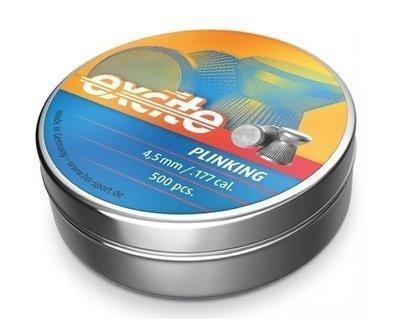 Пули пневматические H&N Excite Plinking (500 шт, 4,5 мм, 0,48 г)
