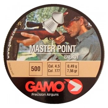 Пули пневматические Gamo Master Point (500 шт, 4,5 мм, 0,49 г)