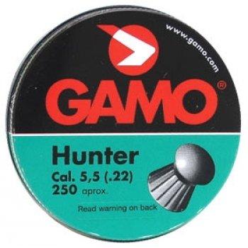 Пули пневматические Gamo Hunter (250 шт, 5,5 мм, 1 г)