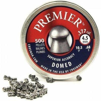Пули пневматические Crosman Premier Domed (500 шт, 4,5 мм, 0,68 г)