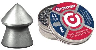 Пули пневматические Crosman Pointed (250 шт, 4,5 мм, 0,47 г)