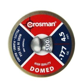 Пули пневматические Crosman Domed (500 шт, 4,5 мм, 0.68 г)