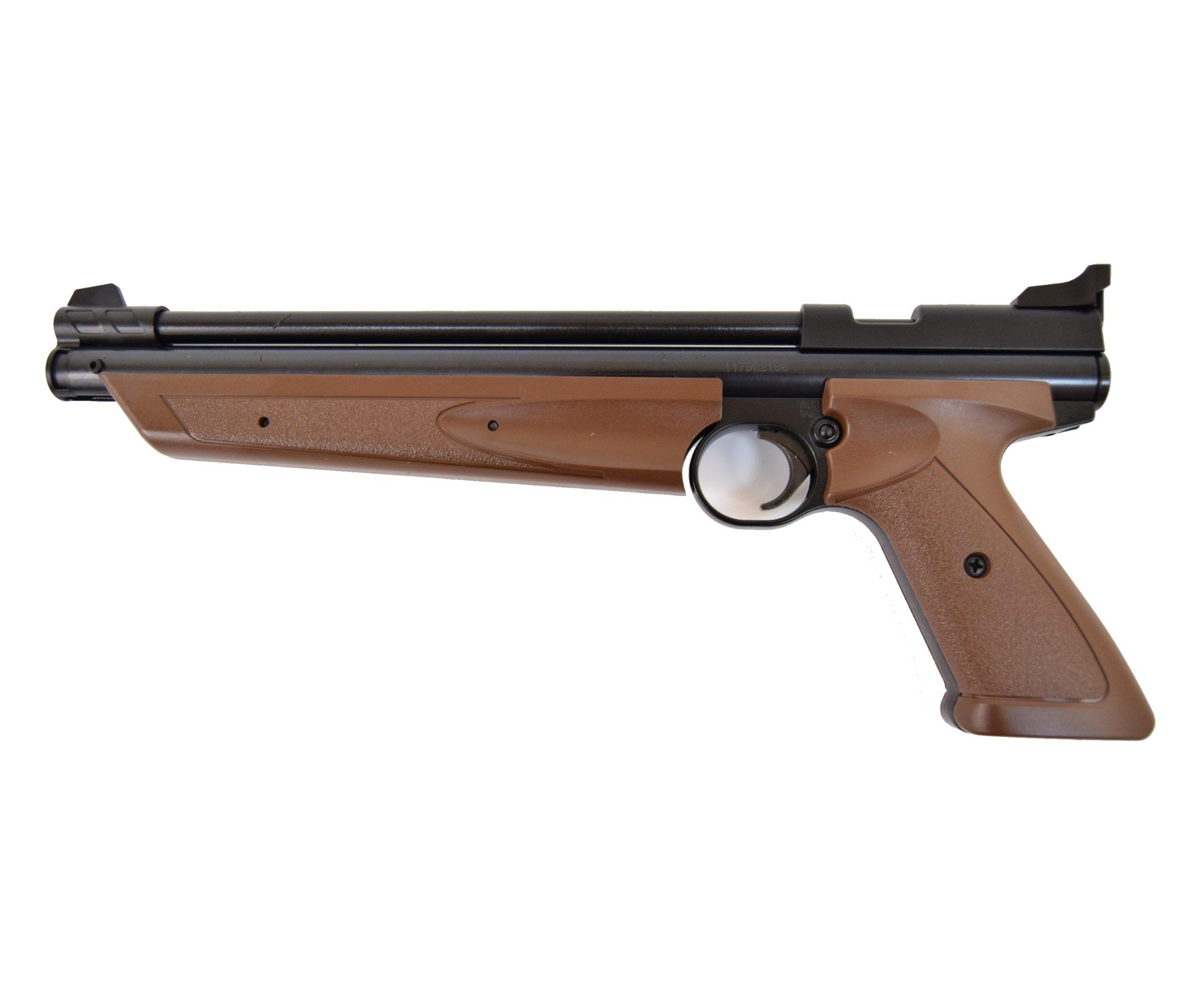 Пистолет Crosman P1377BR American Classic Brown 02053