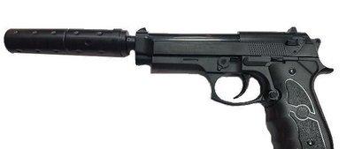 Пистолет страйкбольный Galaxy G.052B (с глушителем)
