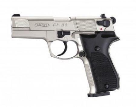Пистолет Umarex Walther CP 88 Никель 02234