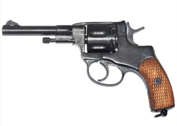 Пистолет охолощенный Р-412 (Наган), 10ТК 02146