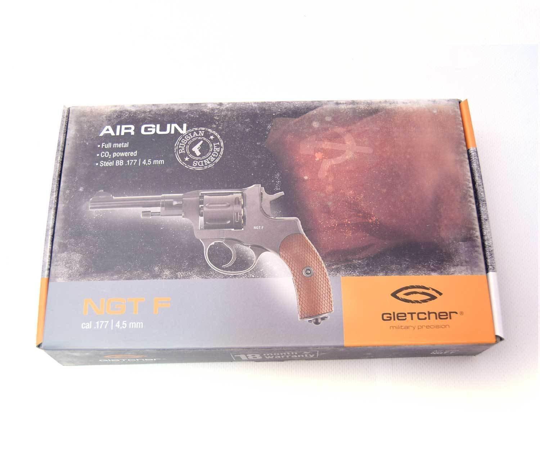 Револьвер Gletcher NGT F