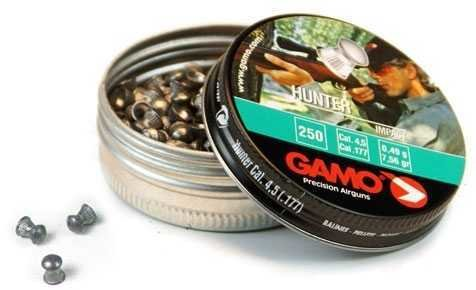 Пули пневматические Gamo Hunter (250 шт, 4,5 мм, 0,49 г)