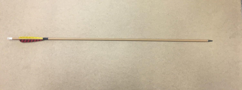 Стрела для лука карбон с натуральным пером WTP-7-300-31 (6 шт.)