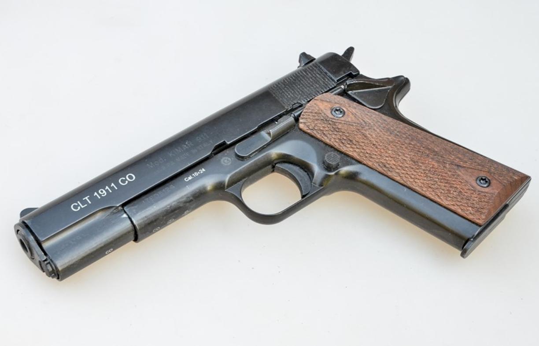 Охолощенный пистолет Colt 1911-СО, 10x24