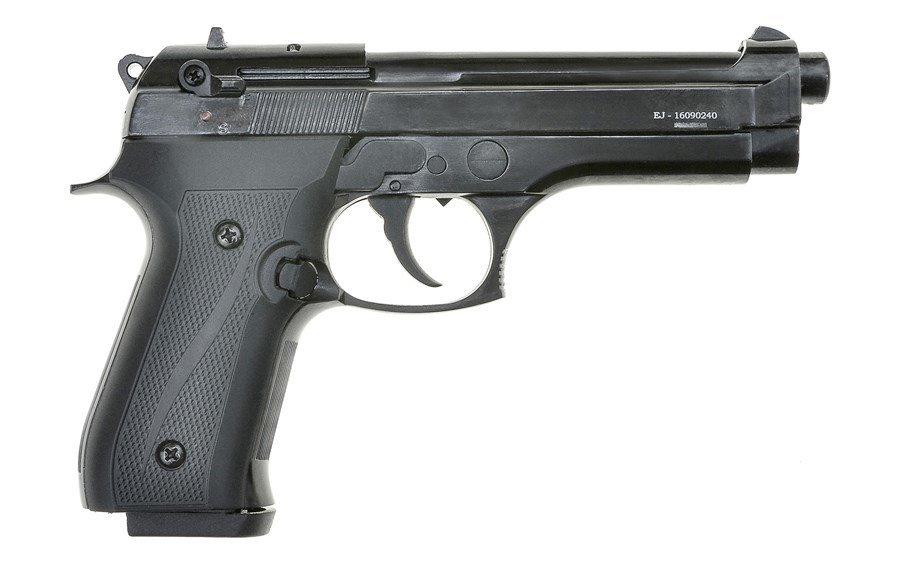Охолощенный пистолет Beretta B92-СО, 10ТК (черный)