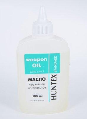 Масло оружейное нейтральное Huntex standard, 100 мл