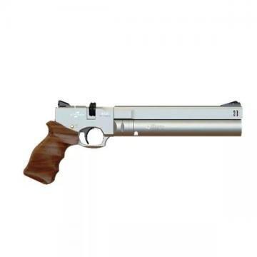 Пистолет Ataman АР16 Silver (стандарт, дерево)
