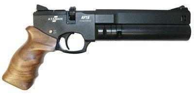 Пистолет Ataman АР16 (компакт дерево, 5,5 мм)