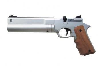 Пистолет Ataman АР16 (компакт металл, Silver, 4,5 мм)