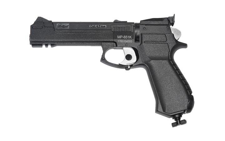 Пистолет Байкал МР-651К