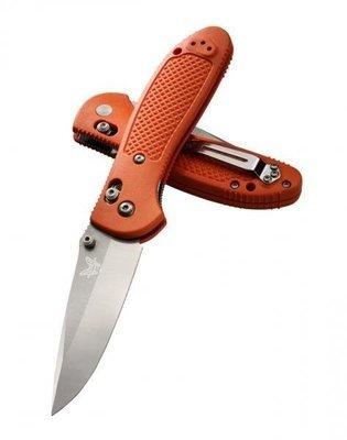 Нож складной Benchmade 551H2O, GRIPTILLIAN, оранжевая рукоять