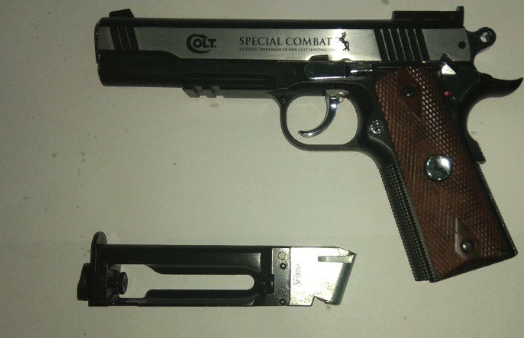 Пистолет Umarex Colt Special Combat